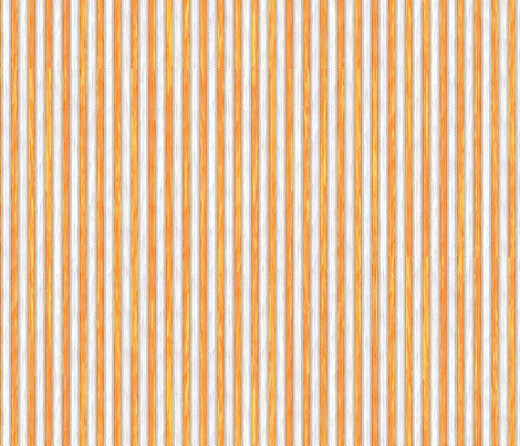 Painterly Marmalade Stripe fabric by glimmericks on Spoonflower - custom fabric
