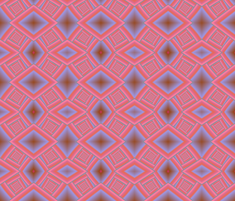 Pink Spiral Staircase fabric by eclectic_house on Spoonflower - custom fabric