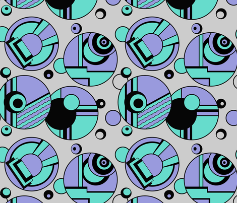 deco_bubbles fabric by shirlene on Spoonflower - custom fabric