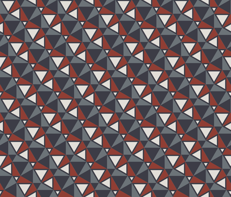 Winter City fabric by ormolu on Spoonflower - custom fabric