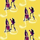 musicians in treble (clef)