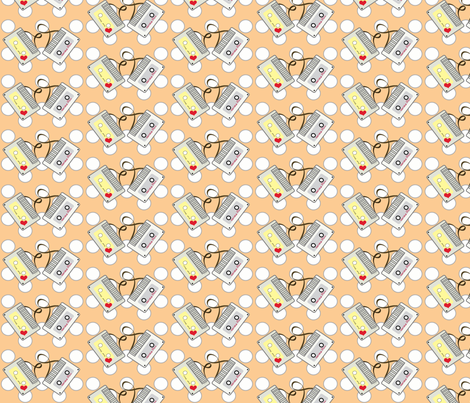 mixtape fabric by kiwicuties on Spoonflower - custom fabric