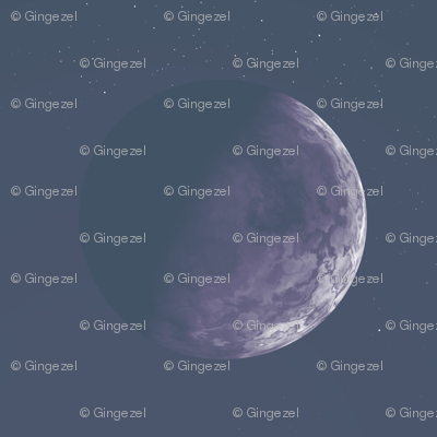 Alien Moon Sinnia in Purple © Gingezel™ 2012