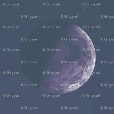 Alien Moon Sinnia in Purple © Gingezel™ 2012
