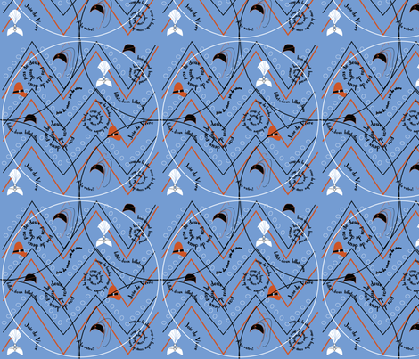art deco days fabric by hartlinedesigns on Spoonflower - custom fabric