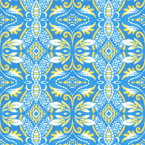 Thessaly fabric by siya on Spoonflower - custom fabric