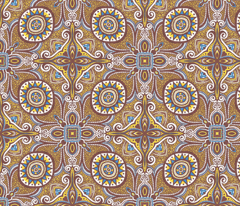 Cunningham fabric by siya on Spoonflower - custom fabric