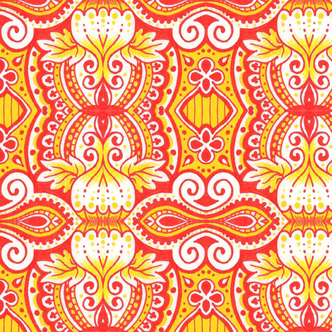 Harvest fabric by siya on Spoonflower - custom fabric