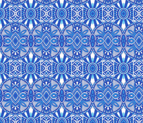 Winterhaven fabric by siya on Spoonflower - custom fabric