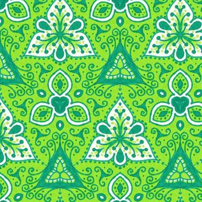 Green Threes