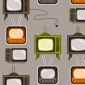 Timeworn TV's