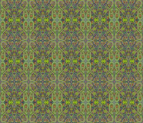 Paradise Found fabric by gabreala on Spoonflower - custom fabric