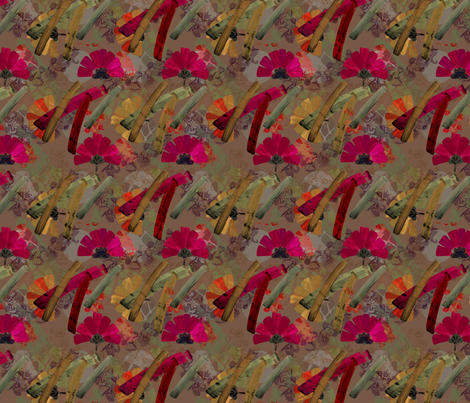 poppy fabric by gavanna on Spoonflower - custom fabric