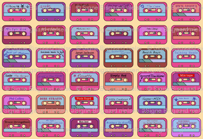 Tapes from the 80's