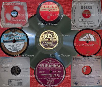 vinyl history1940;s