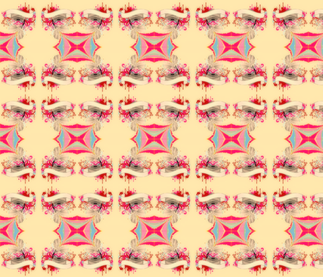 retro gramophone fabric by pink-lollipops on Spoonflower - custom fabric