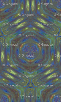 Lily Pad Abstract 1 © Gingezel™ 2012