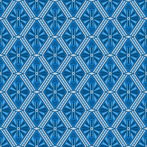 Art Deco Diamonds fabric by robyriker on Spoonflower - custom fabric