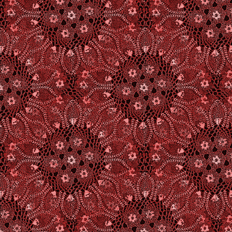 doily sunburst fabric by nalo_hopkinson on Spoonflower - custom fabric