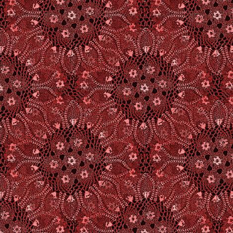 doily sunburst fabric by nalo_hopkinson on Spoonflower - custom fabric