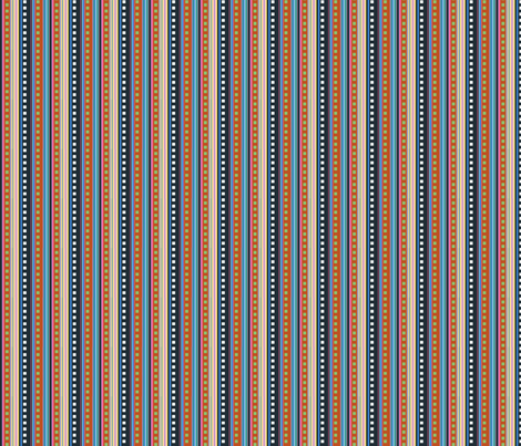 Plastic Age-- Stripe Coordinate fabric by annacole on Spoonflower - custom fabric