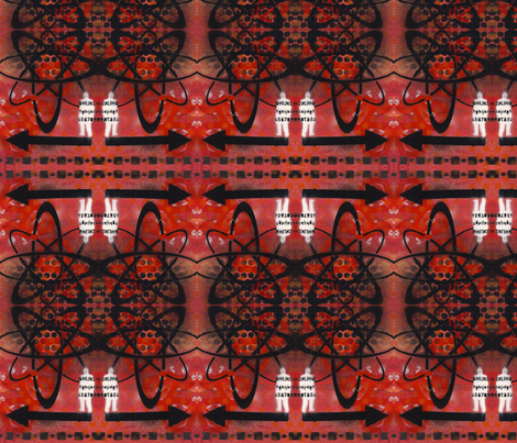 Biohazard fabric by discodog01 on Spoonflower - custom fabric