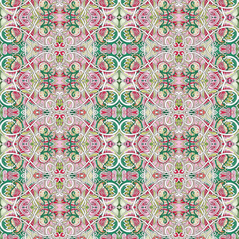 Hearts and Flowers fabric by edsel2084 on Spoonflower - custom fabric