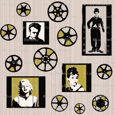 Retro movie reels