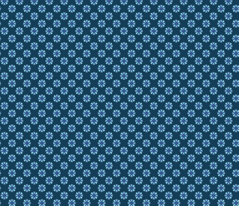 blue for my sis fabric by anonymuse on Spoonflower - custom fabric