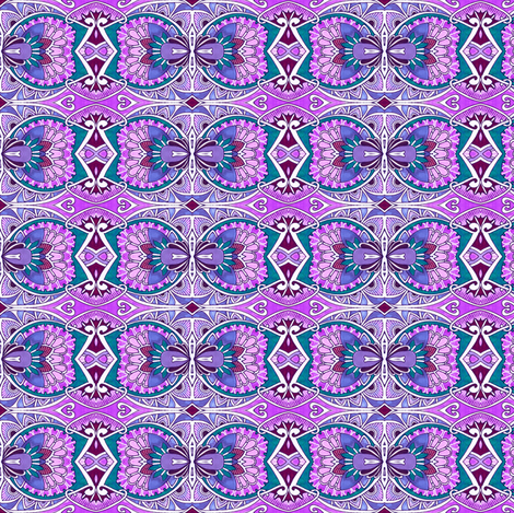 Lavender Day fabric by edsel2084 on Spoonflower - custom fabric