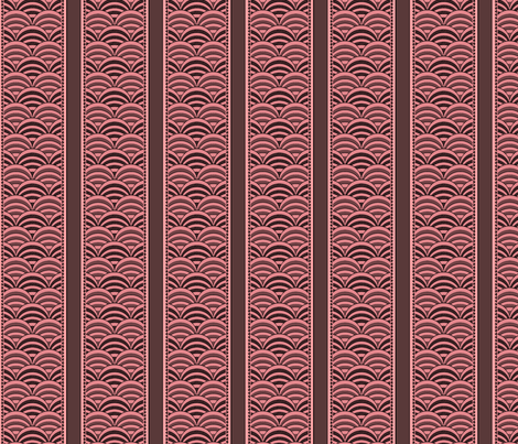 deco-dent coordinate stripe fabric by glimmericks on Spoonflower - custom fabric