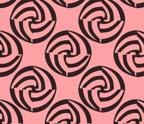deco-dent_coordinate swirlers fabric by glimmericks on Spoonflower - custom fabric