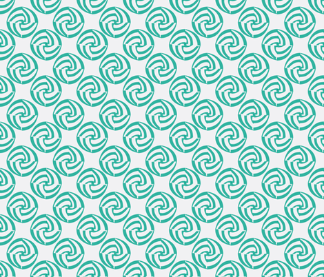 small swirleys - refreshed fabric by glimmericks on Spoonflower - custom fabric