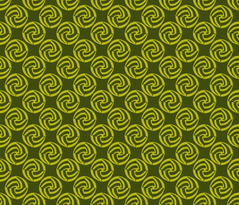 small swirleys - hold da pickle fabric by glimmericks on Spoonflower - custom fabric