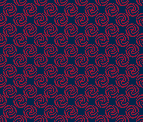 small swirleys - grateful nation fabric by glimmericks on Spoonflower - custom fabric