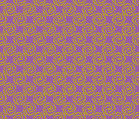 small swirleys - purple madness fabric by glimmericks on Spoonflower - custom fabric