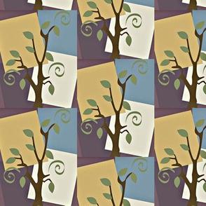 tree swirl square