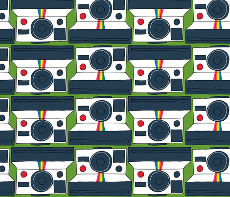 Instant Camera fabric by katyholmes on Spoonflower - custom fabric
