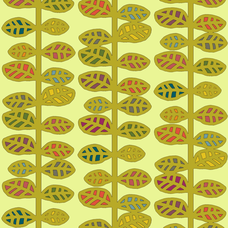 fantasy stems fabric by scrummy on Spoonflower - custom fabric
