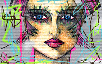 Graffiti 80s inspiration