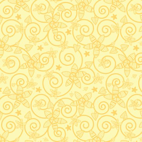Sunny Garden fabric by robyriker on Spoonflower - custom fabric