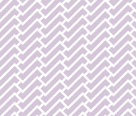 fretwork in lilac fabric by domesticate on Spoonflower - custom fabric