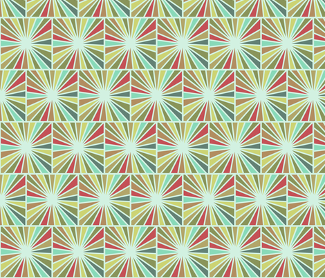 Starburst fabric by littlerhodydesign on Spoonflower - custom fabric