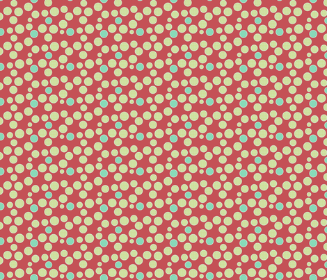 Spots fabric by littlerhodydesign on Spoonflower - custom fabric
