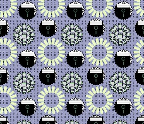 A Geek's Garden fabric by brandymiller on Spoonflower - custom fabric
