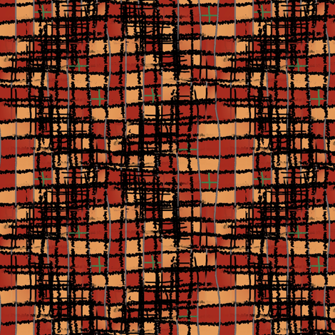 Mad plaid fabric by nalo_hopkinson on Spoonflower - custom fabric