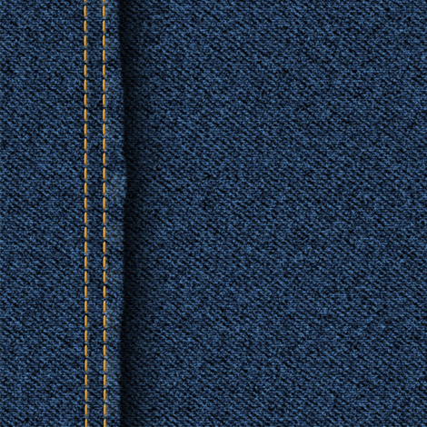 Denim Stitch fabric by demouse on Spoonflower - custom fabric