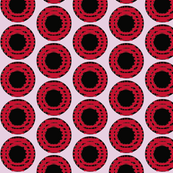 Red Grid Dots