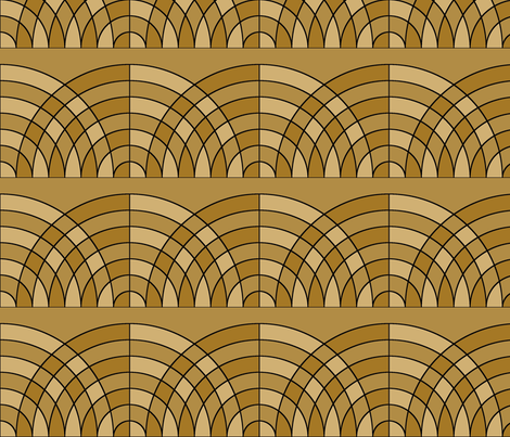 art_deco_6 fabric by patchinista on Spoonflower - custom fabric