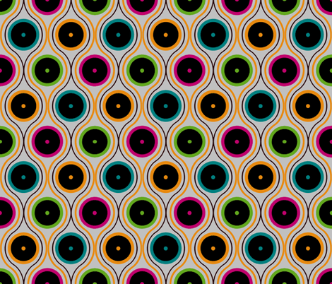Vintage Vinyl fabric by kdl on Spoonflower - custom fabric